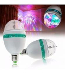 Luz Colorida Para Festas / Led Full Color Rotating Lamp