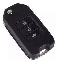 Chave Canivete Alarme Pósitron Honda Fit Civic City Hrv Wrv