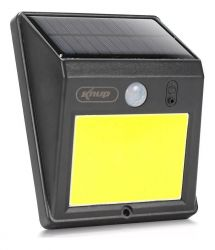 Luminaria Solar Arandela 48 Leds Cob Sensor Presença Knup