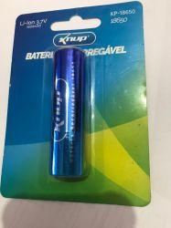 Bateria Recarregável Knup Kp-18650 3,7v 3800mah