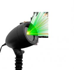 Refletor Espeto Projetor De Luz Laser Bivolt Pisca Pisca