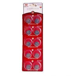 10 Baterias Pilha Cr1220 Bateria Relógio Mox