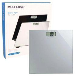 Balança Digital Eatsmart Lcd Vidro Multilaser Hc022