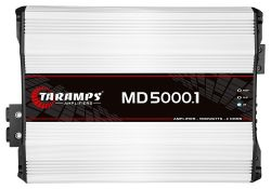 Módulo Amplificador Digital Taramps MD 5000 1 Canal 5000 Watts RMS 1 Ohms